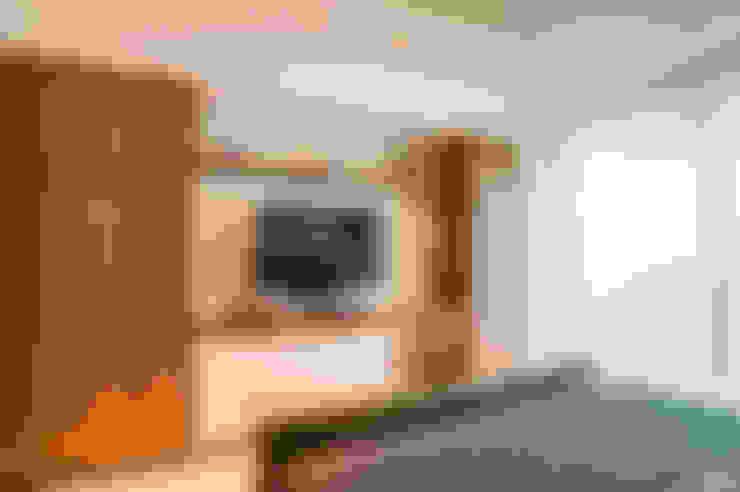 17 Ide Menempatkan TV Di Kamar Tidur