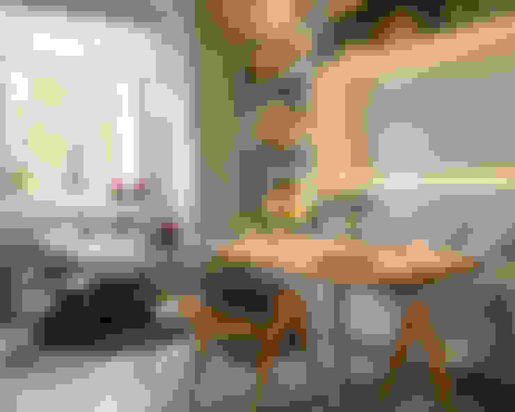 Comedores de estilo  por Estudio de iluminación Giuliana Nieva