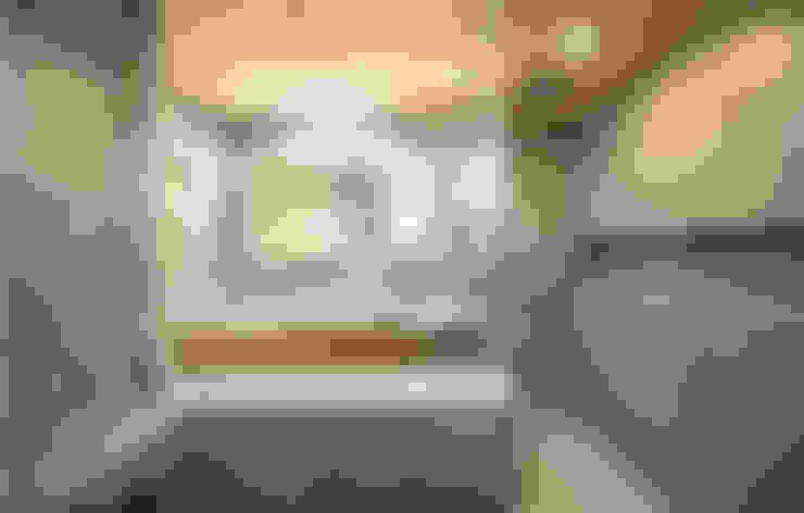 2층 욕실 공간 : 코원하우스의  욕실