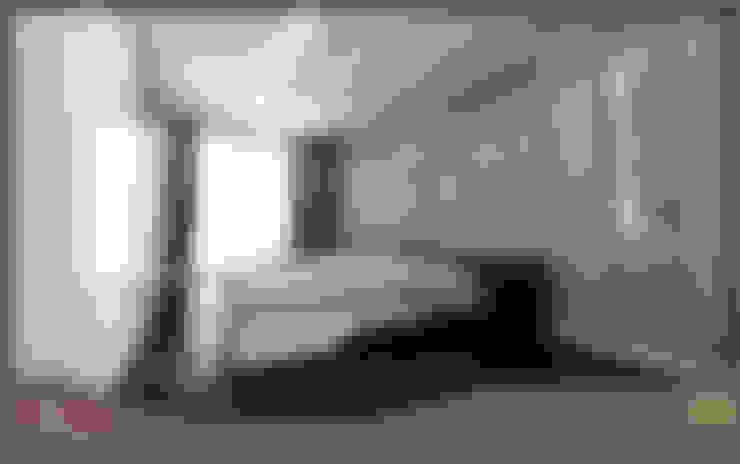 W DESIGN İÇ MİMARLIK – Yatak Odası:  tarz Yatak Odası