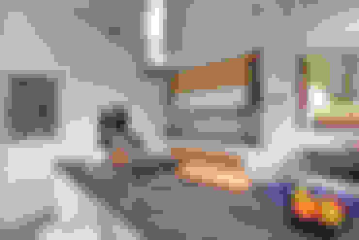 Dom prywatny, Osiedle Konstancja w Warszawie. Współpraca: Agnieszka Orlińska: styl , w kategorii Kuchnia zaprojektowany przez Marchitektka