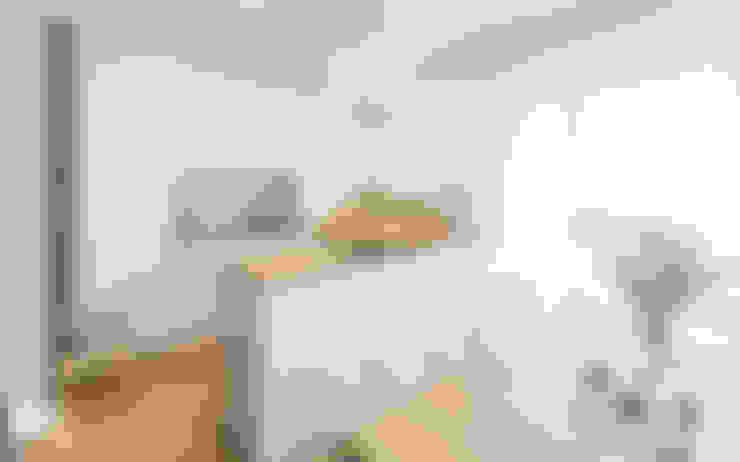 Realizacja projektu wnętrza mieszkania w Krakowie: styl , w kategorii Kuchnia zaprojektowany przez TIKA DESIGN