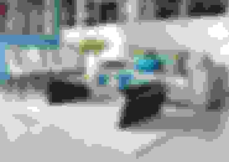 غرفة المعيشة تنفيذ DISEÑO INTERIOR LTDA
