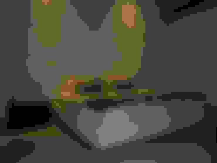 Trabajos variados: Habitaciones de estilo  por Casa Bonita Diseño y Decoración