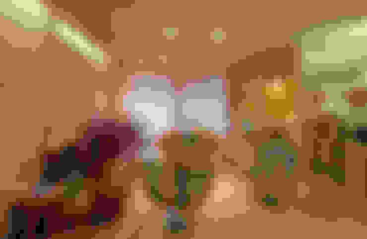 Salas / recibidores de estilo  por Jacqueline Ortega Design de Ambientes