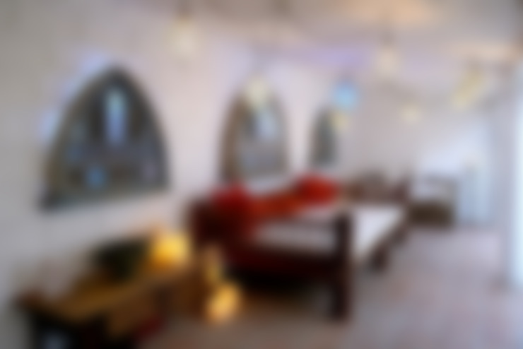 غرفة المعيشة تنفيذ Decoración Andalusí