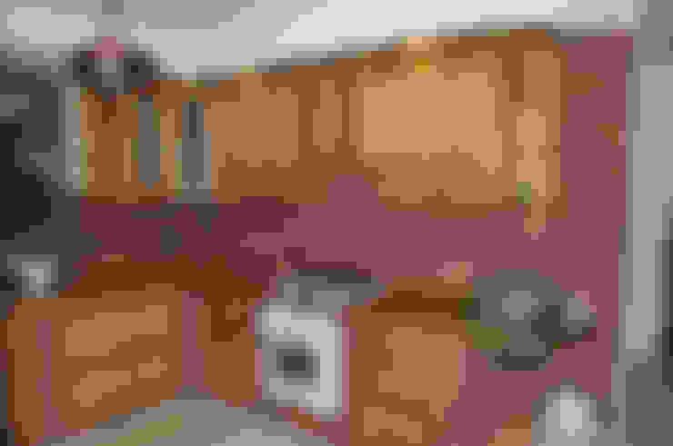 廚房 by Revia Meble i drzwi z litego dębu.