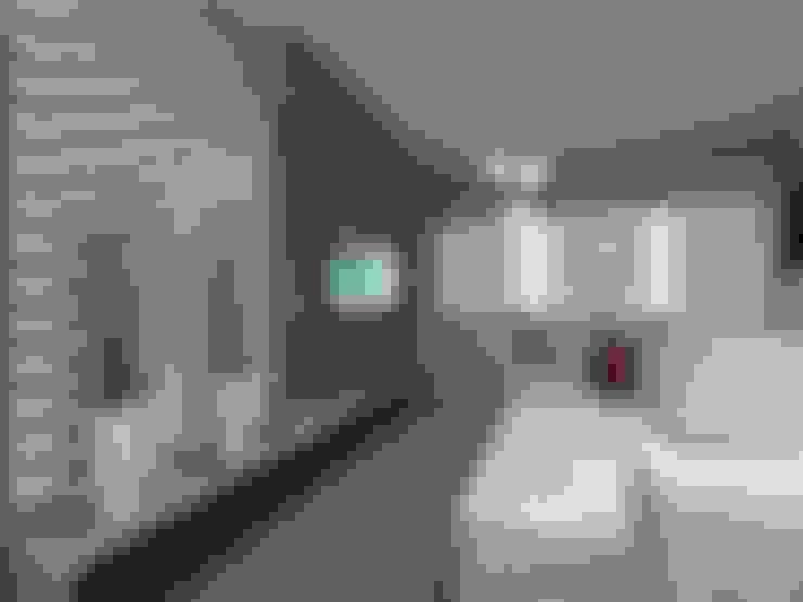 Sala de Estar AL: Salas de estar  por Plano A Studio