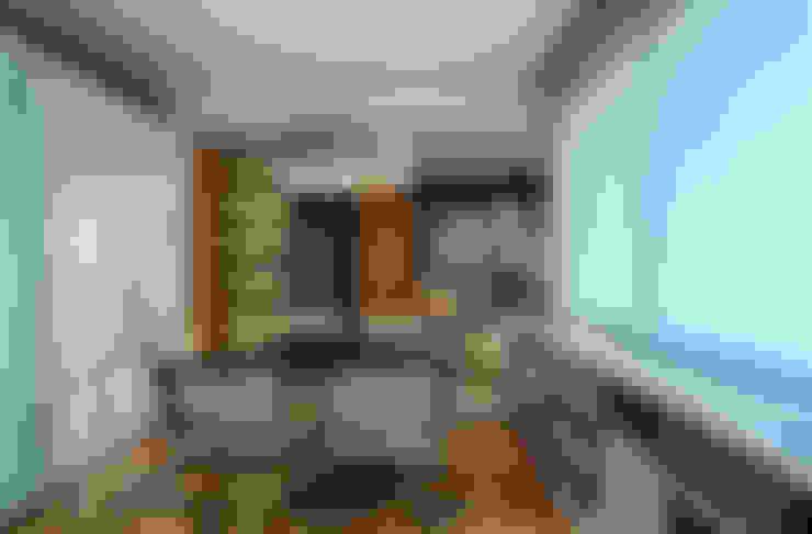 Apartamento FM: Salas de jantar  por CoGa Arquitetura