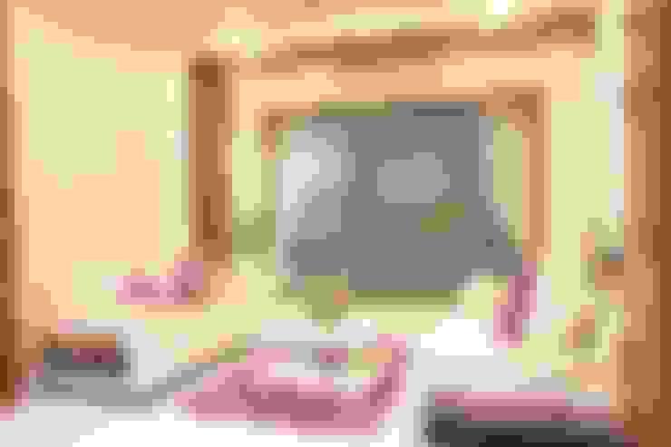 غرفة المعيشة تنفيذ Ansari Architects