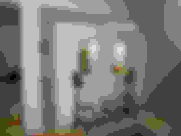 Salas / recibidores de estilo  por Ansari Architects