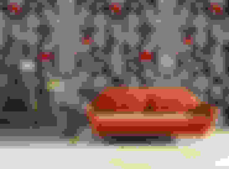 Pareti & Pavimenti in stile  di OH Wallpaper