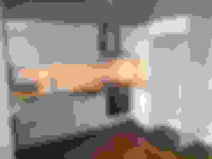 Plano Mimarlık ve Teknoloji – Firuzağa Ev:  tarz Mutfak