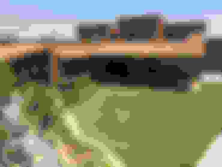 Casa sustentable en Chicureo: Casas de estilo  por Arquiespacios