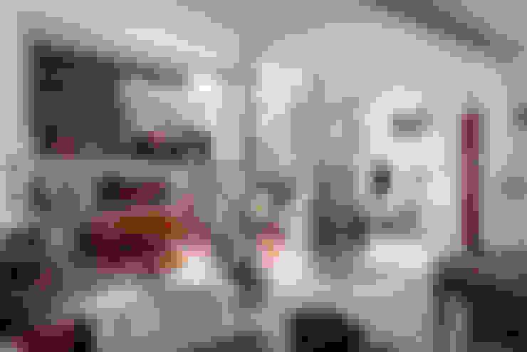 غرفة المعيشة تنفيذ Pop Arq