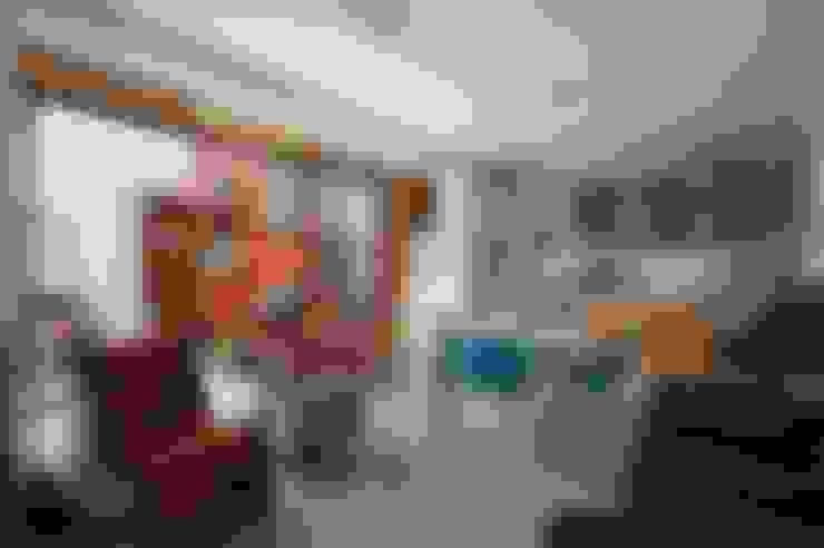 Min House: Livings de estilo  por Pop Arq