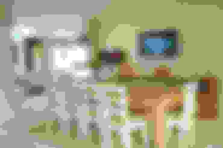 Casa Atlântida Ilhas Park: Salas de jantar  por João Linck | Arquitetura