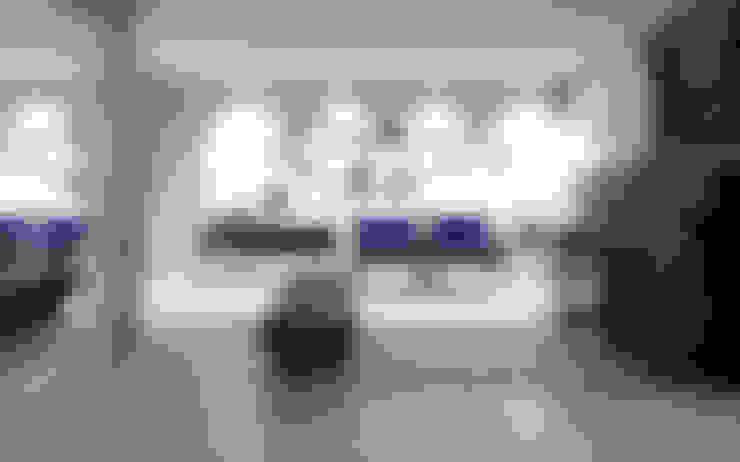 Salas / recibidores de estilo  por Lozí - Projeto e Obra