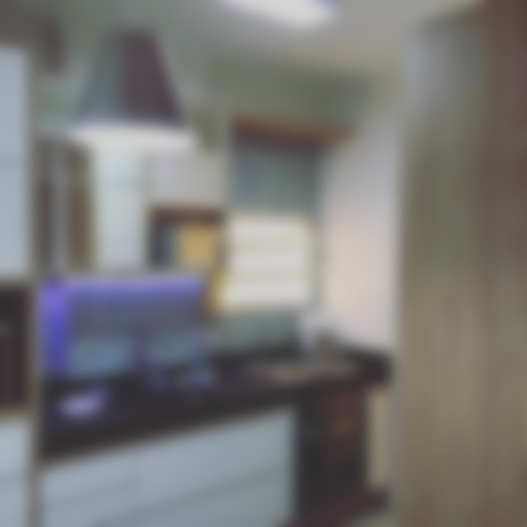 Kitchen by Rachel Avellar Interiores