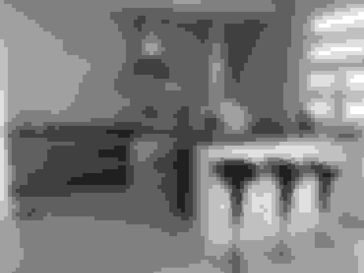 ESPAÇO GOURMET: Terraços  por Rachel Avellar Interiores
