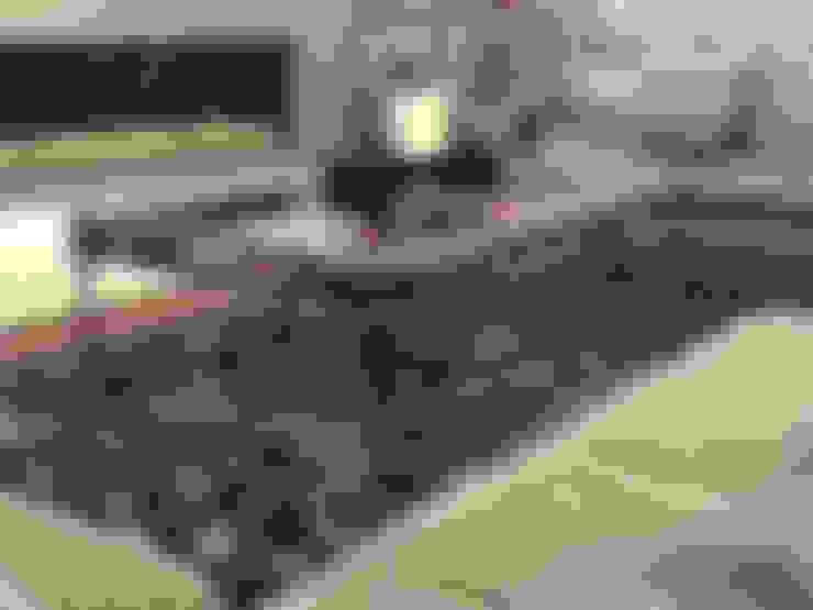 غرفة المعيشة تنفيذ Rethink Interiors Ltd