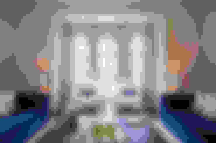 غرفة المعيشة تنفيذ Design by UBER