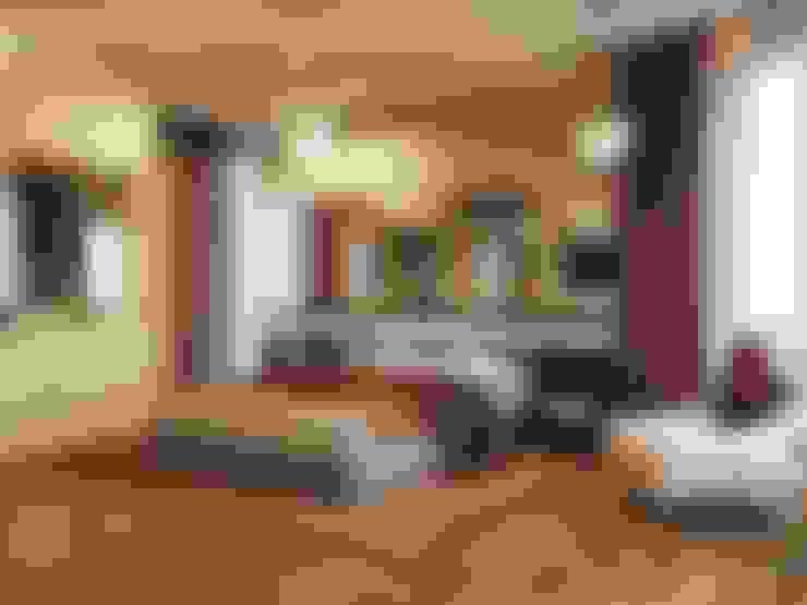Camera da letto in stile  di Студия Павла Полынова