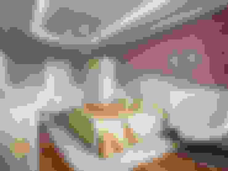 غرفة نوم تنفيذ Студия Павла Полынова