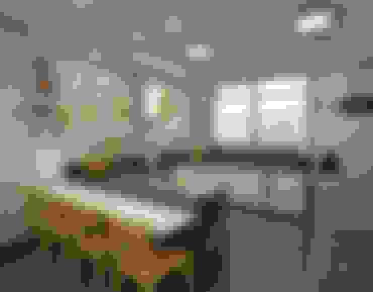 مطبخ تنفيذ Ao Cubo Arquitetura e Interiores