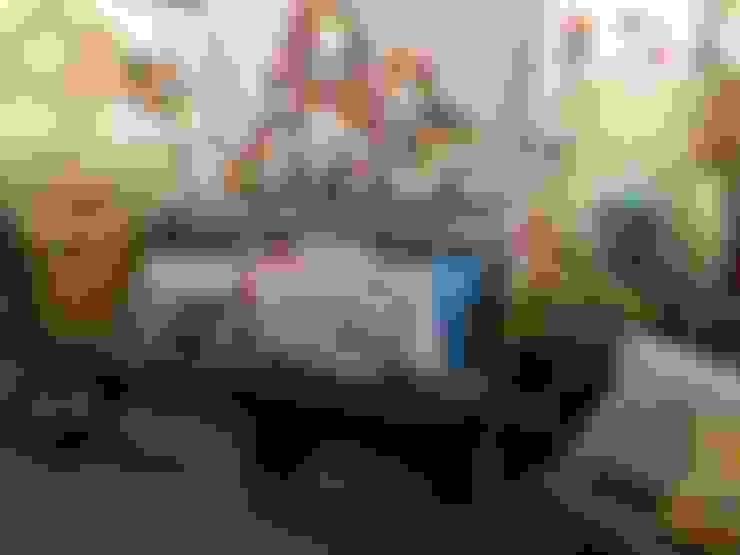 غرفة المعيشة تنفيذ casa.nova interiorismo