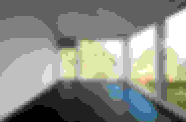 Спальни в . Автор – mmarch gmbh - Mader Marti Architektur ETH SIA