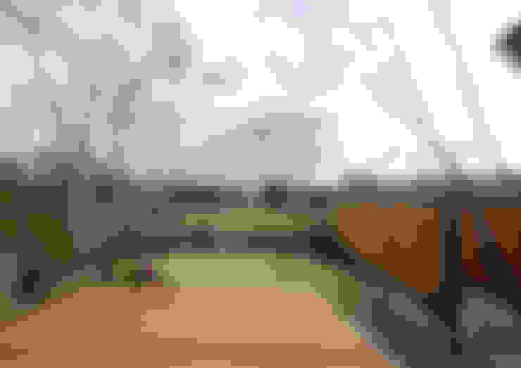 Jardines de estilo  de バウムスタイルアーキテクト一級建築士事務所