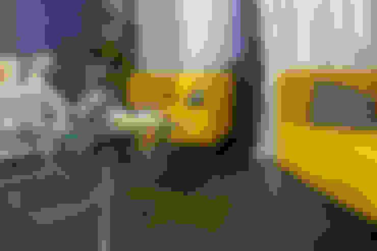 غرفة نوم تنفيذ Студия Интерьерных Решений Десапт