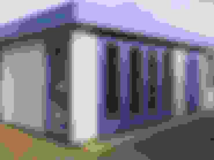 Projekty,  Domowe biuro i gabinet zaprojektowane przez Garden Affairs Ltd