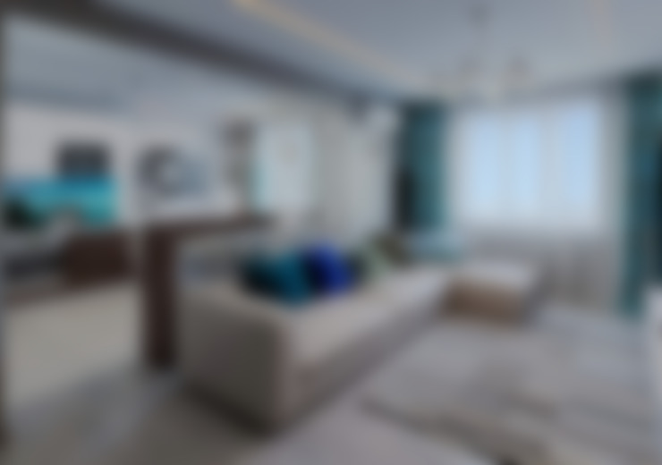 Salas / recibidores de estilo  por hq-design