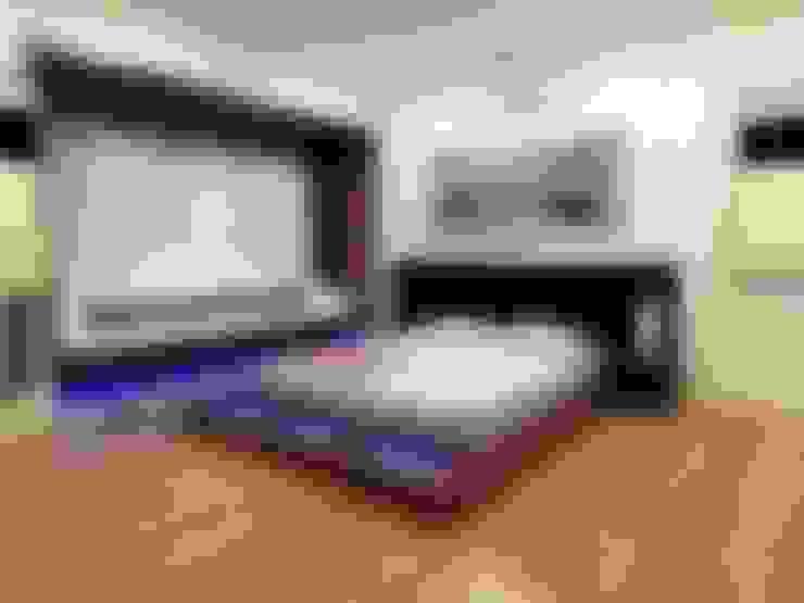 غرفة نوم تنفيذ Shadab Anwari & Associates.