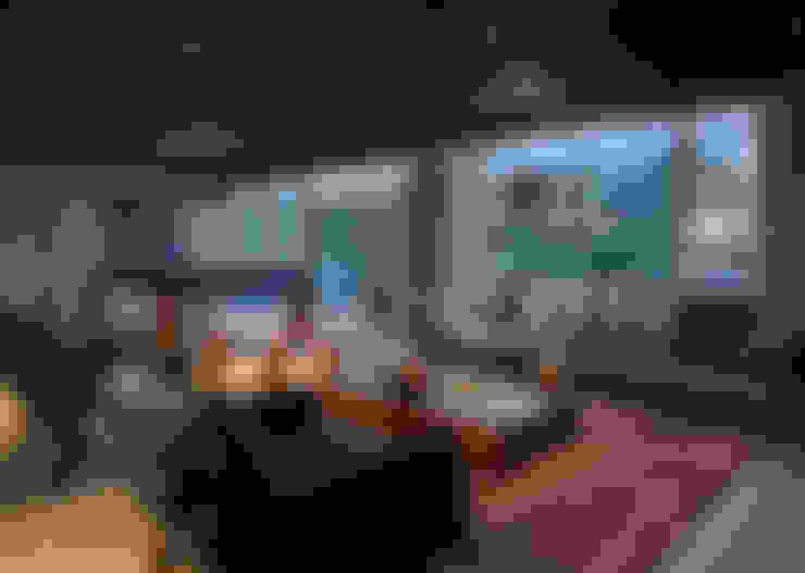 غرفة الميديا تنفيذ RIMA Arquitectura