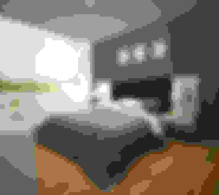 Habitaciones de estilo  por Kuro Design Studio