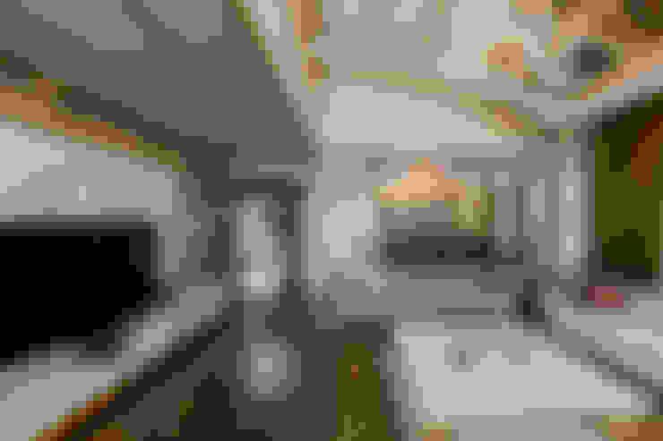 غرفة المعيشة تنفيذ Mimoza Mimarlık