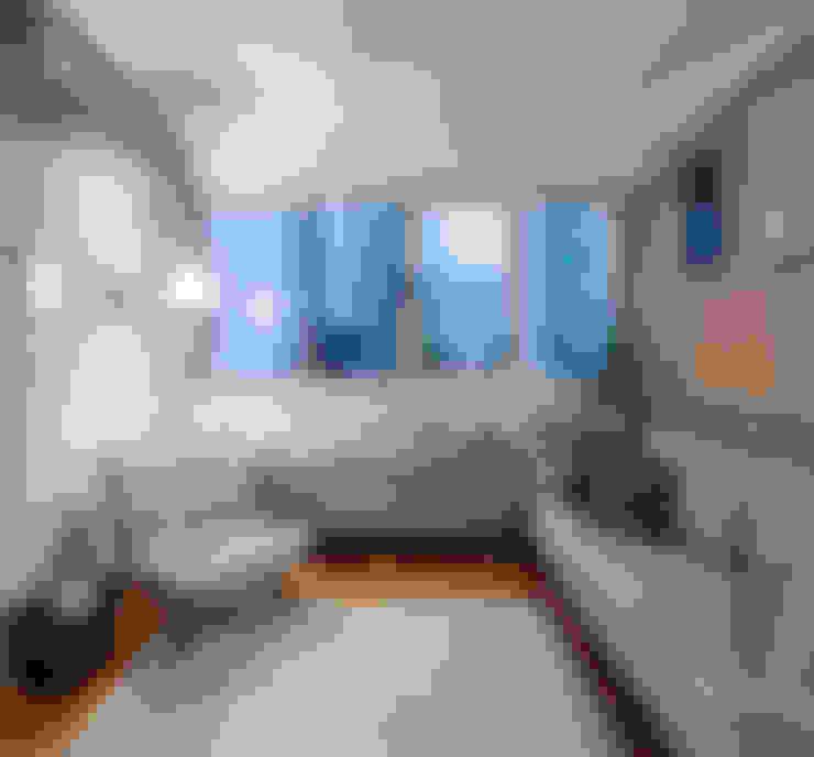 Apartamento Tutóia: Salas de estar  por Alvorada Arquitetos