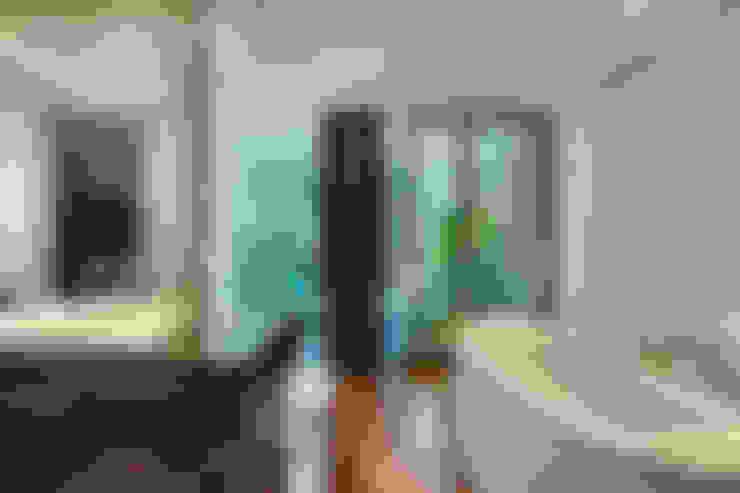 Salas / recibidores de estilo  por Lanza Arquitetos