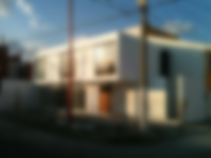 Casas de estilo  por CCA arquitectos