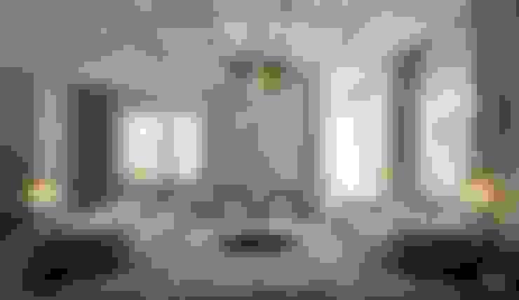 ÖZHAN HAZIRLAR İÇ MİMARLIK – Florya evi:  tarz Oturma Odası