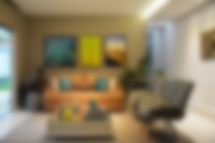 Sala de Estar: Salas de estar  por CARDOSO CHOUZA ARQUITETOS