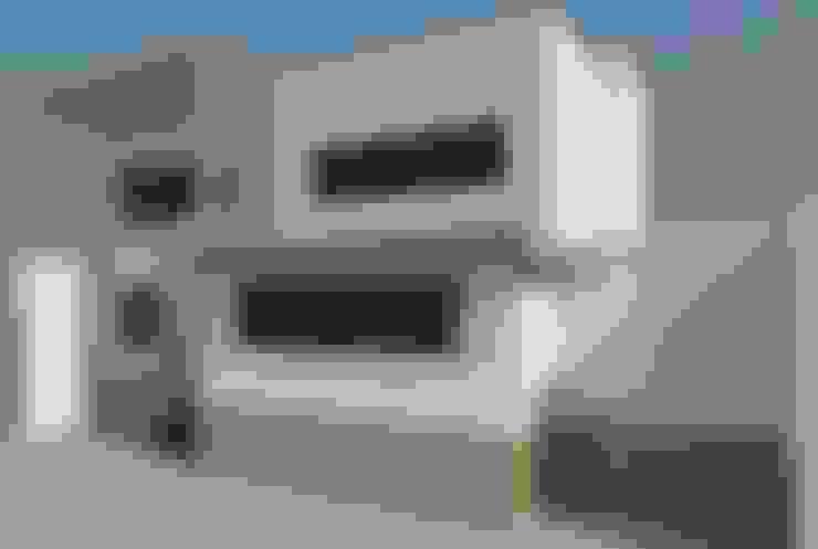 Projekty,  Domy zaprojektowane przez Perfil Arquitectónico