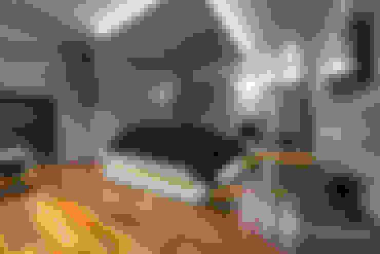 غرفة نوم تنفيذ Ronald T. Pimentel Fotografia