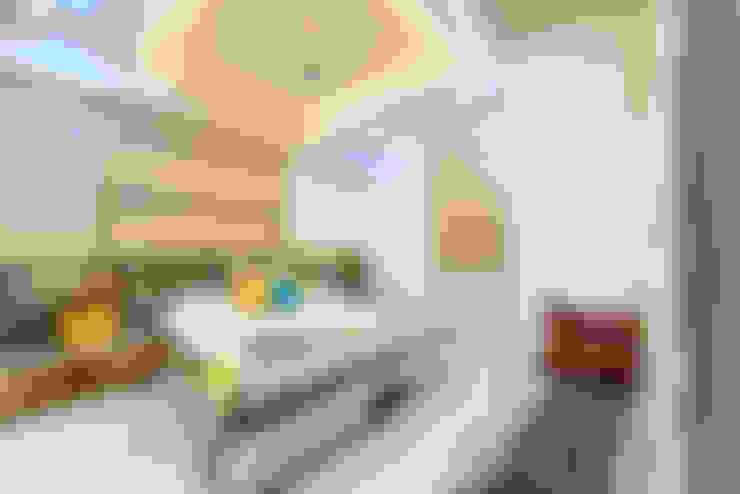 غرفة نوم تنفيذ Saar Interior Design