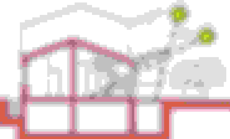 Huizen door Studio di Architettura Ortu Pillola e Associati