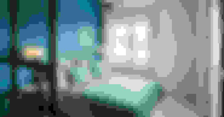 Projekty,  Sypialnia zaprojektowane przez Bau-Fritz GmbH & Co. KG