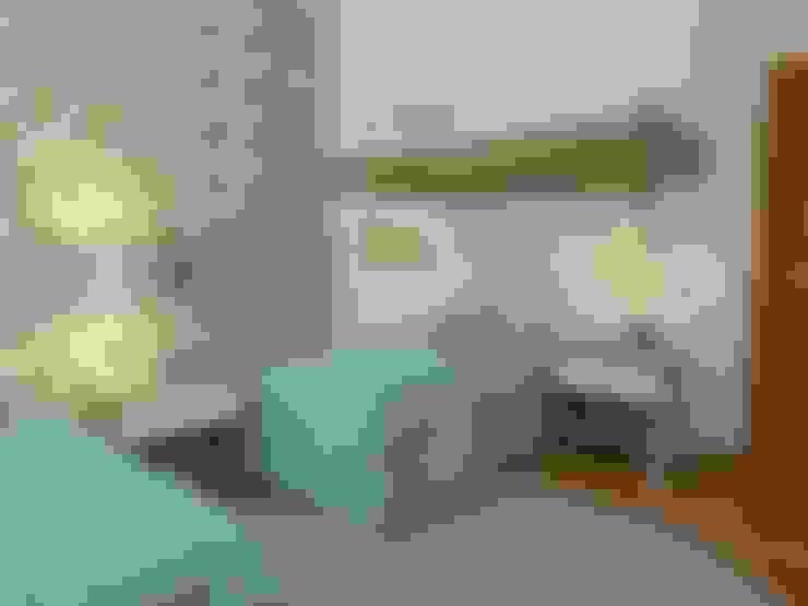 Nursery/kid's room by Ana Guadalupe Arquiteta